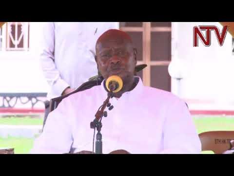 Museveni opens presidential demo farm in Otuke