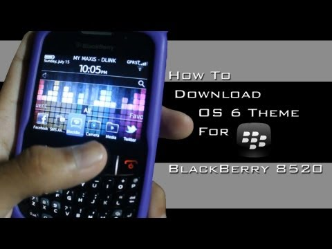 Blackberry - Tutorial - OS 6 For Blackberry Curve 8520 - New Link UPDATED [Malay Subs]