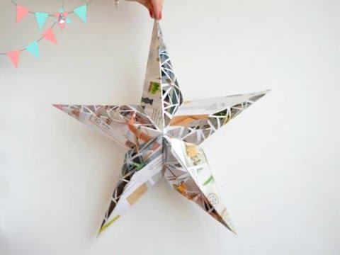 de papel DIYLampara DIYLampara de estrella papel papel estrella estrella de DIYLampara nO0vmyN8w