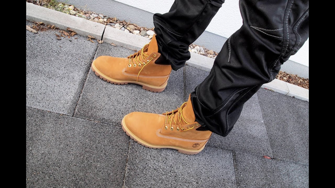 timberland boots on jeans