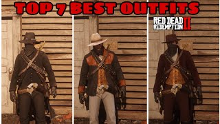 RED DEAD REDEMPTION 2 *7 BEST OUTFTIT COMBOS*(TOP OUTFIT COMBINATIONS)