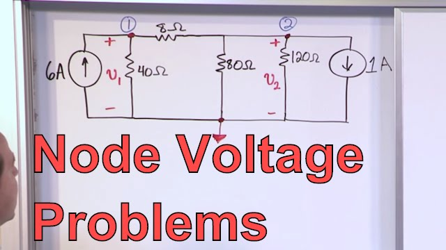 Node Voltage Problems In Circuit Analysis Electrical Engineering