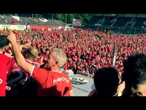 AUFSTIEG feiern in Sandhausen | SV Sandhausen - Hannover 96