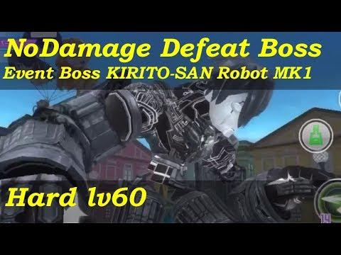 SAO IF - KIRITO-SAN Robot MK1 Event Boss [Lv60 Party Hard/Solo/No Damage/Rapier]