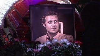 Funeral en Moscú por los dos informadores rusos fallecidos en Ucrania