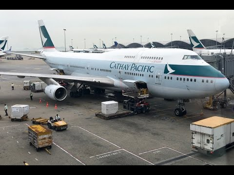 [2016] Cathay Pacific   Boeing 747-400   HKG-HND   First Class