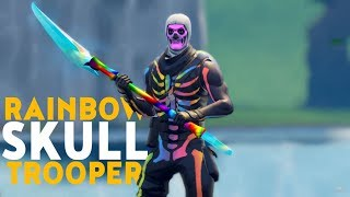 How To Get The NEW Fortnite Rainbow Skull Trooper Skin