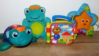 Baby Einstein toys.  Classical music toys for babies