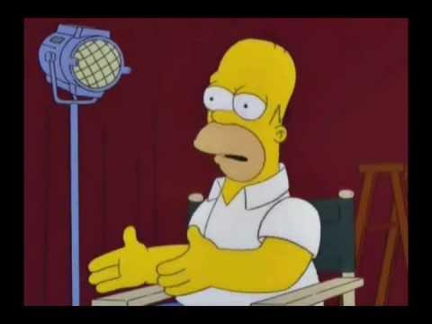 Homero Simpson Te desea feliz cumpleaños - YouTube