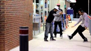 Dj Fresh - Louder - Dubstep Dance(The dancers are ( in order) Marquese