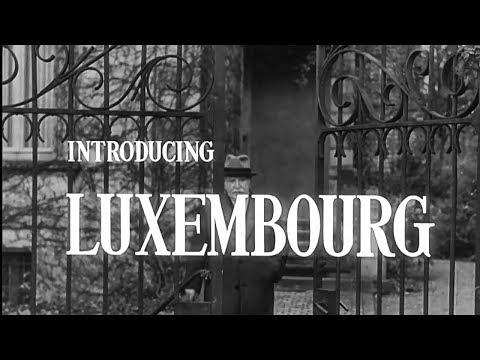 Introducing 🇱🇺Luxembourg [The Atlantic Community Series - NATO Documentaries, 1954]
