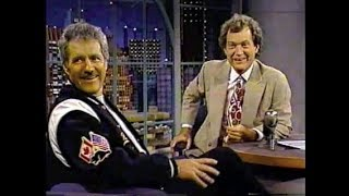 Alex Trebek on Letterman, 1990–95
