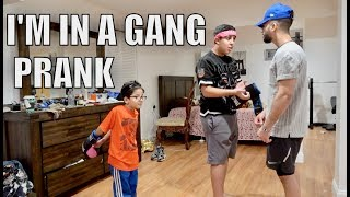 'I'M JOINING A GANG' PRANK!!