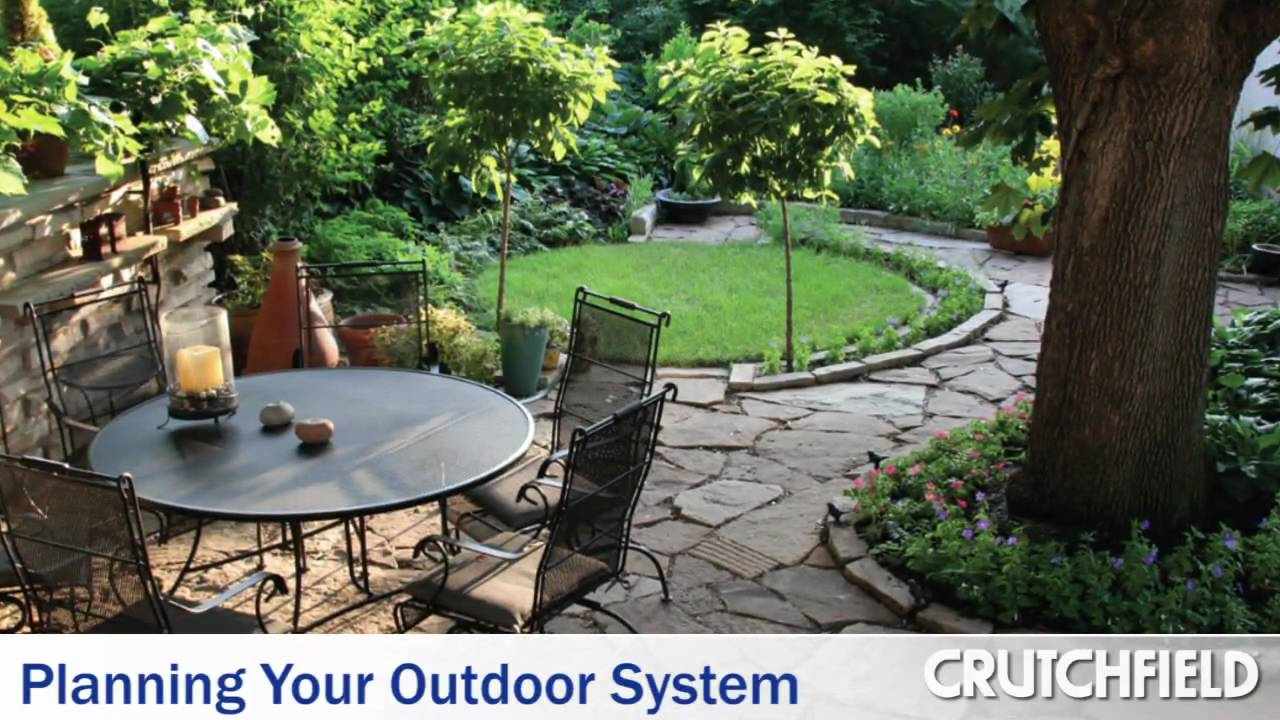 Planning Your Outdoor Speaker System | Crutchfield Video - Planning Your Outdoor Speaker System Crutchfield Video - YouTube