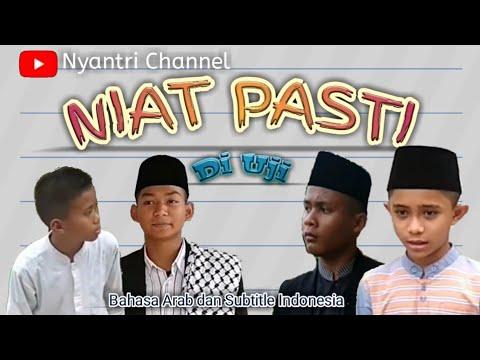 NIAT! Film santri,bahasa Arab dan subtitle