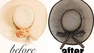 DIY Vintage Hat Home Décor | CuteSimpleStuff