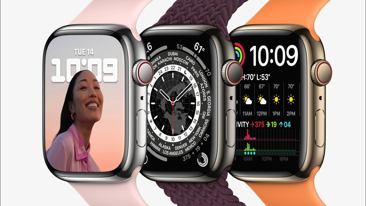 Apple reveals Apple Watch Series 7, featuring a larger, more ...