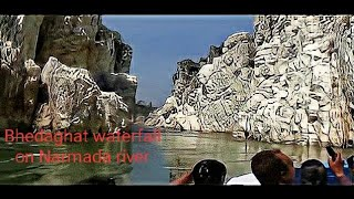 Wonder of Nature Bhedaghat Of Narmada River Tour by motor boat  with Guide 03.vob