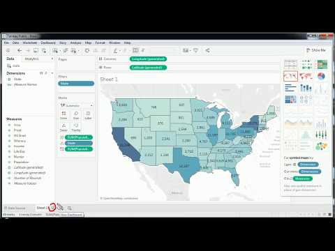 Tableau - Intro To Maps For Data Visualization