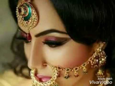 Beautiful Stylish Nose Ring With Long Chain Style Bridal Nose