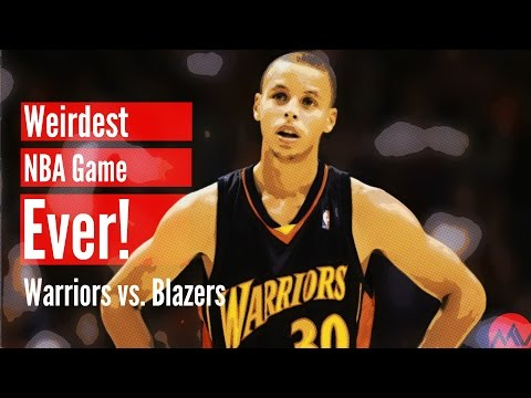 Thumbnail: The Weirdest NBA Game Ever! (Warriors vs. Blazers)