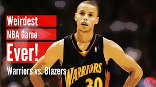 The Weirdest NBA Game Ever! (Warriors vs. Blazers) thumbnail