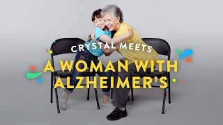 Kids Meet A Woman with Alzheimer's (Crystal) | Kids Meet | HiHo Kids