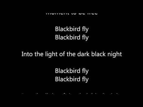 Black bird - Sarah McLachlan -  Lyrics