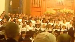 final, en la gloria eterna final concierto
