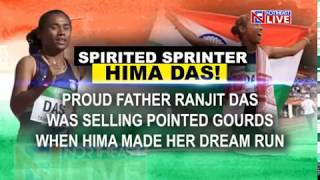Earlier Assam's Hima Das brought glory not only for the northeast b...
