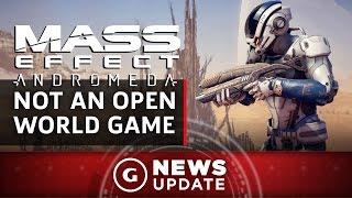 Mass Effect Andromeda Is Not An Open-World Game - GS News Update