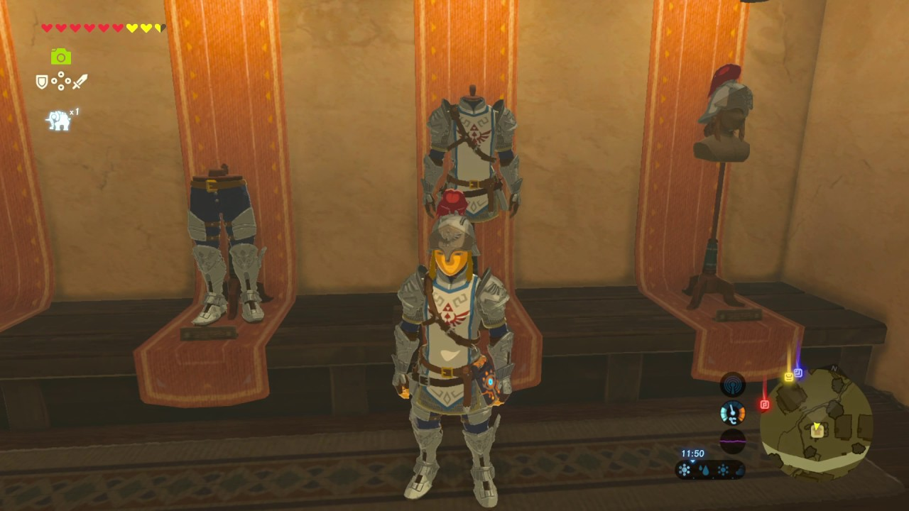 Soldiers Armor Set The Legend Of Zelda Breath Of The