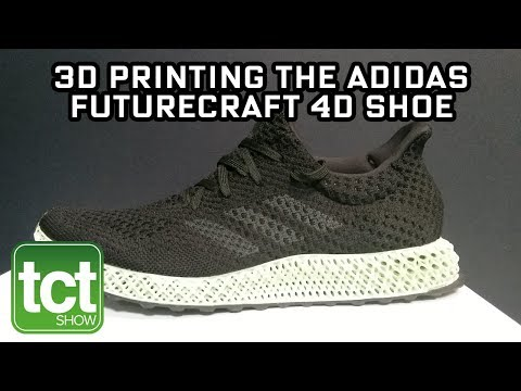 Carbon on 3D printing the adidas Futurecraft 4D shoe