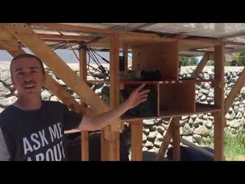100% Solar Powered Off Grid Bitcoin Mining Rig - Backyard Passive Income