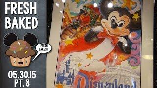 60th anniversary art at the Disneyana store | 05-30-15 Pt. 8