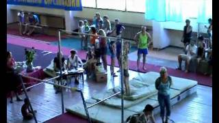 Спортивная гимнастика Кубок Гороховской 2010 Евпатория Старшая группа