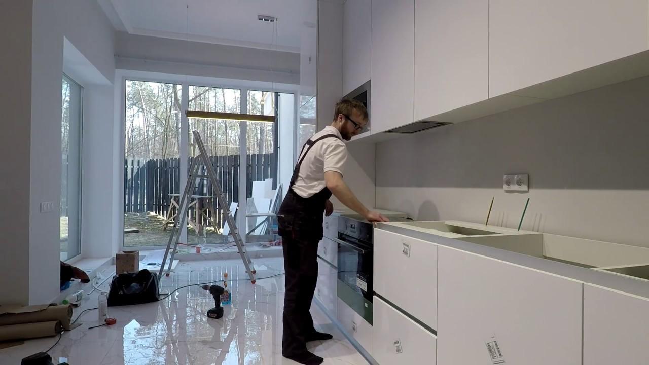 Монтаж угловой кухни своими руками фото 522