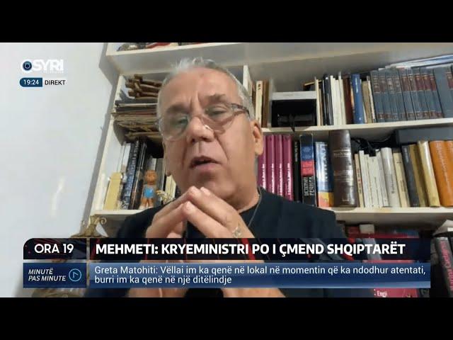 Kim Mehmeti: Çdo anti-islamist është anti-shqiptar