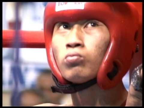 South Pacific Games 2007 Boxing Feather 57kg  AMS vs Fiji  Preliminary