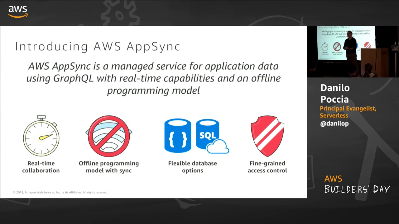 AWS Builders' Day | Building Real-Time Serverless Backends with GraphQL