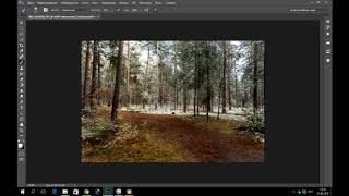 Photoshop CC. Видео урок .  Цветокоррекция и усиление объёма.
