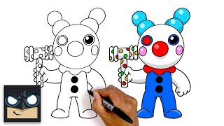 How To Draw Roblox Clown | Step by Step