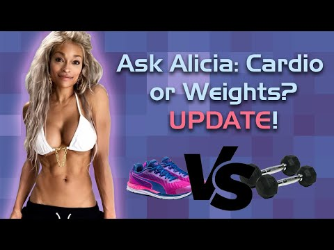 ASK ALICIA: Weights or Cardio First? Do I Need Rest Days?