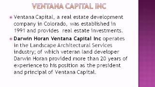 Baixar Darwin Horan's Ventana Capital Inc Tracks Lucrative Property