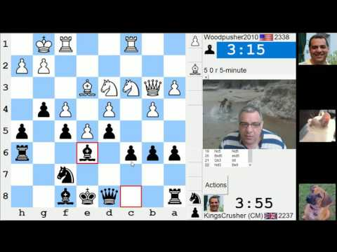 LIVE Blitz (Speed) Chess Game: