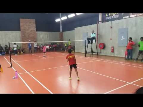 Perak Indian Badminton Open 2017 Under 10 Singles