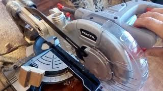 Пила торцовочная Practyl 1500 Вт 210х30 мм