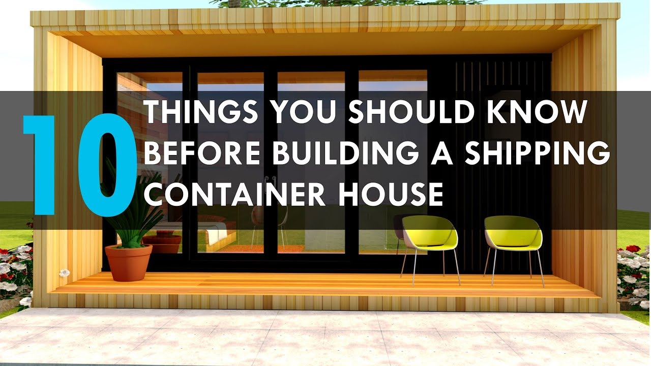 10 things you should know before building a shipping for Things to consider before building a house