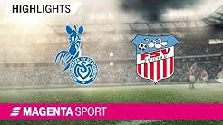 MSV Duisburg - FSV Zwickau | Spieltag 5, 19/20 | MAGENTA SPORT