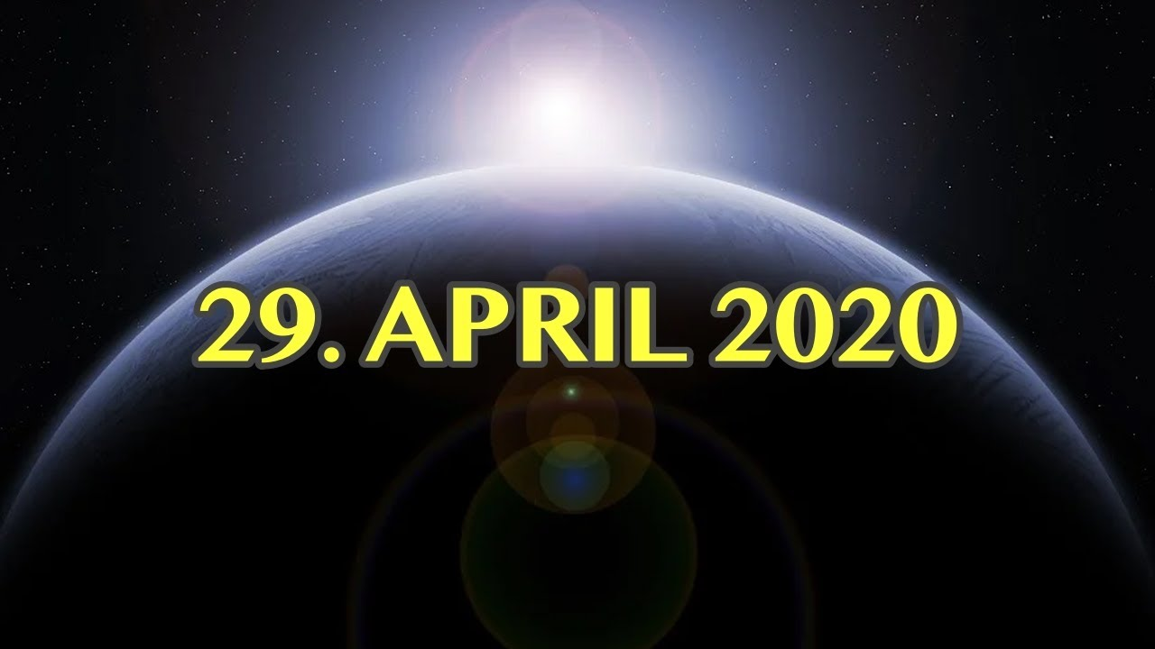 ¿WAS PASSIERT AM 29. APRIL 2020?